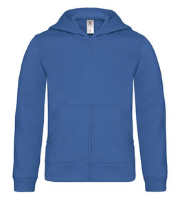 Casaco Sweat B&C Hooded Full Zip Kids 280 gr